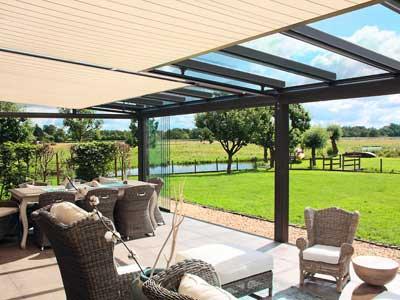 Terrassendach Integral T100 T150 Rollladen Fenster Markisen